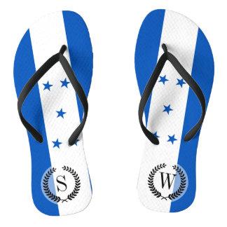 Flag of Honduras Flip Flops