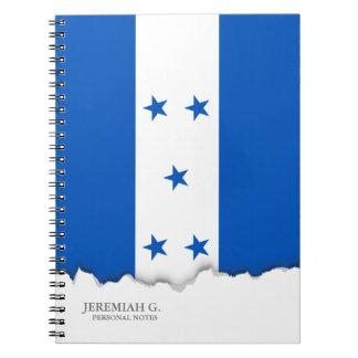 Flag of Honduras Notebook