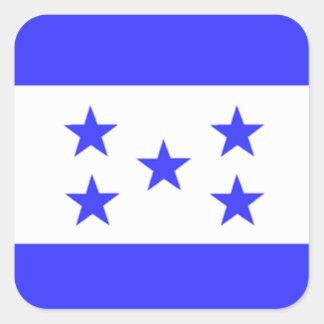Flag of Honduras Square Sticker