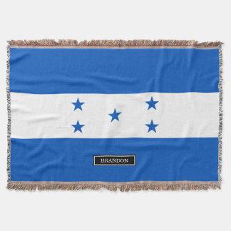 Flag of Honduras Throw Blanket