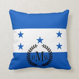 Flag of Honduras Throw Cushions