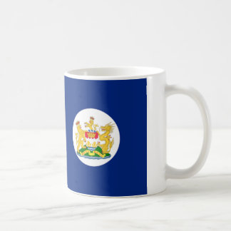Flag of Hong Kong 英屬香港 (1959 – 1997) Basic White Mug
