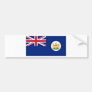 Flag of Hong Kong 英屬香港 (1959 – 1997) Bumper Sticker