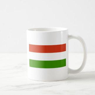 Flag of Hungary Basic White Mug