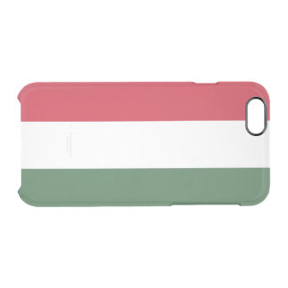 Flag of Hungary Clear iPhone Case
