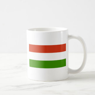 Flag of Hungary Coffee Mugs
