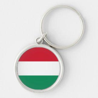 Flag of Hungary Key Chain