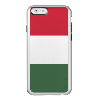 Flag of Hungary Silver iPhone Case Incipio Feather® Shine iPhone 6 Case