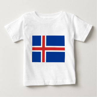 Flag of Iceland Baby T-Shirt