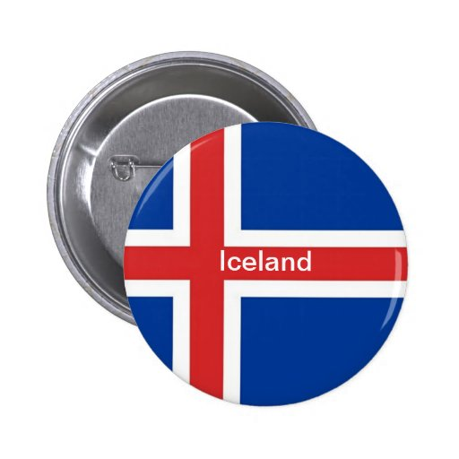 Flag of Iceland Pin