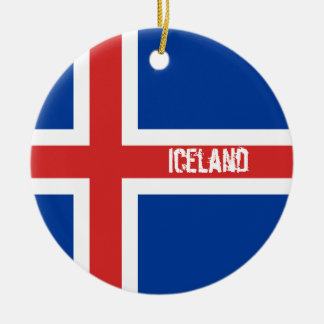 Flag of Iceland Ornament