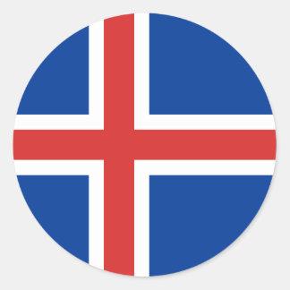 Flag of Iceland Sticker