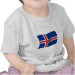 Flag of Iceland Tee Shirt