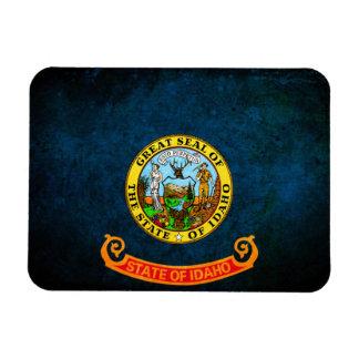 Flag of Idaho Rectangle Magnets