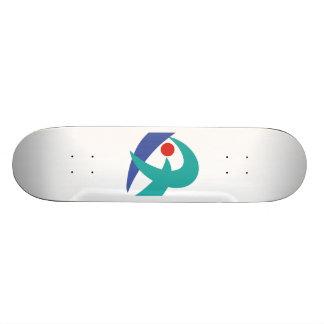 Flag of Iga Mie Japan Skate Board Deck