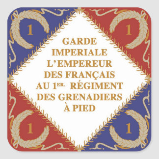 flag of Imperial Guard Sticker