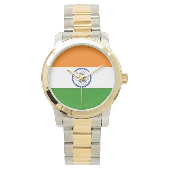Flag of India Ashoka Chakra Watch