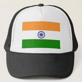 Flag of India. Bharat Ganrajya Trucker Hat