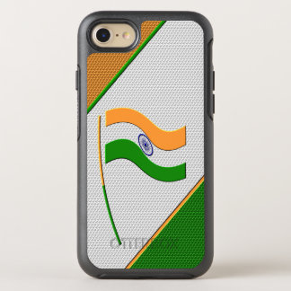 Flag of India OtterBox Symmetry iPhone 8/7 Case