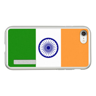 Flag of India Silver iPhone Case