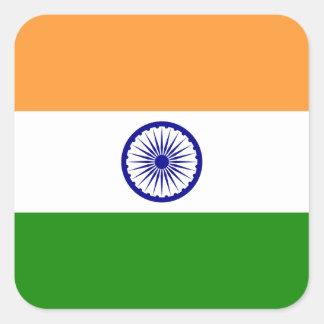 Flag of India Square Sticker