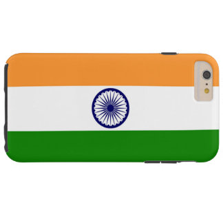 Flag of India Tough iPhone 6 Plus Case