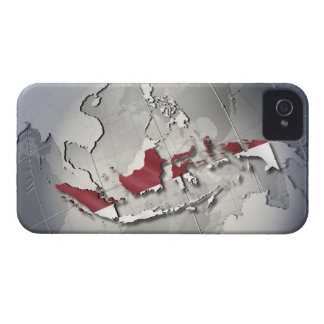 Flag of Indonesia iPhone 4 Cover
