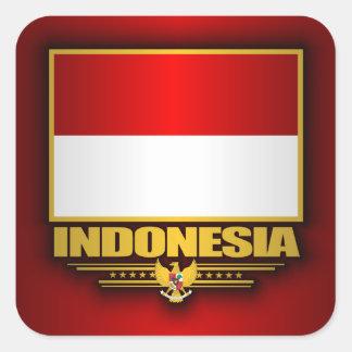 Flag of Indonesia Square Sticker