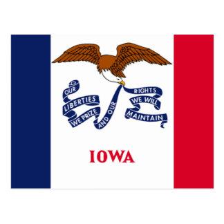 Flag of Iowa Postcard