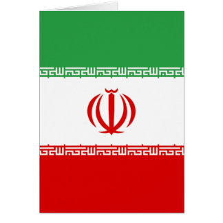 Flag of Iran Card