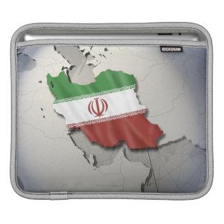 Flag of Iran iPad Sleeve