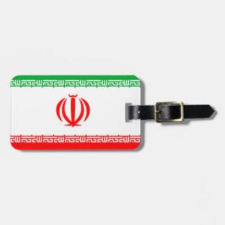 Flag of Iran Luggage Tag