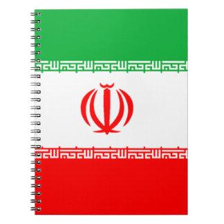 Flag of Iran Notebooks