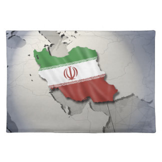 Flag of Iran Placemat