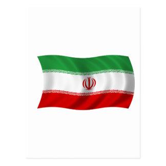 Flag of Iran Postcard