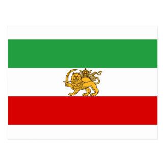 Flag of Iran Post Card