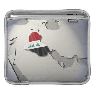 Flag of Iraq iPad Sleeve