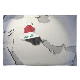 Flag of Iraq Place Mats
