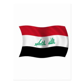 Flag of Iraq Postcard