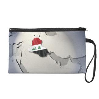 Flag of Iraq Wristlet