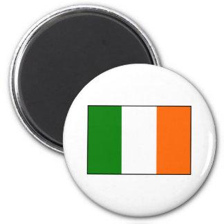 Flag of Ireland 6 Cm Round Magnet