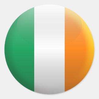 Flag of Ireland Classic Round Sticker