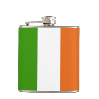 Flag of Ireland Hip Flask