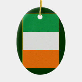 Flag of Ireland - Irish Republic Tri-colour Christmas Ornament