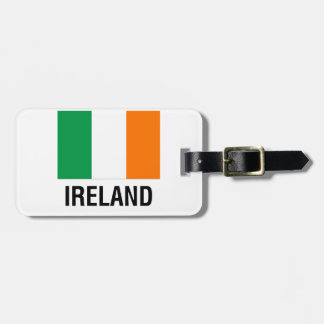 FLAG of IRELAND Luggage Tag