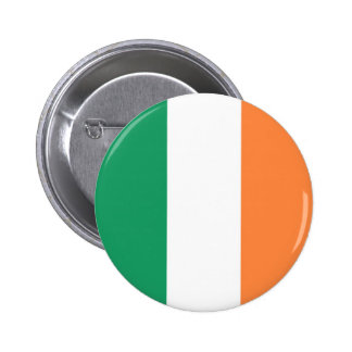 Flag of Ireland on Pin / Button Badge