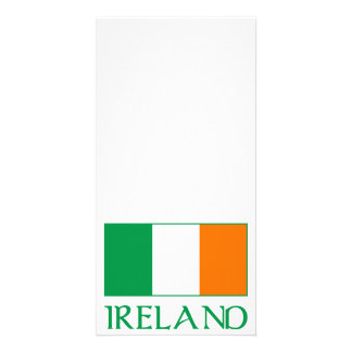 Flag of Ireland Photo Card