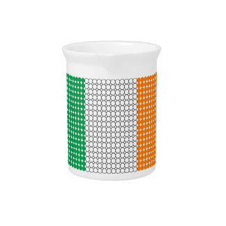 Flag of Ireland Pitcher
