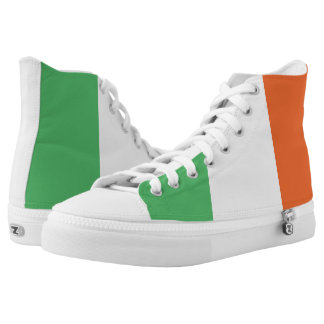 Flag Of Ireland Printed Shoes