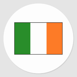 Flag of Ireland Round Sticker